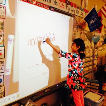 The Foundation provided smartboards for every classroom.