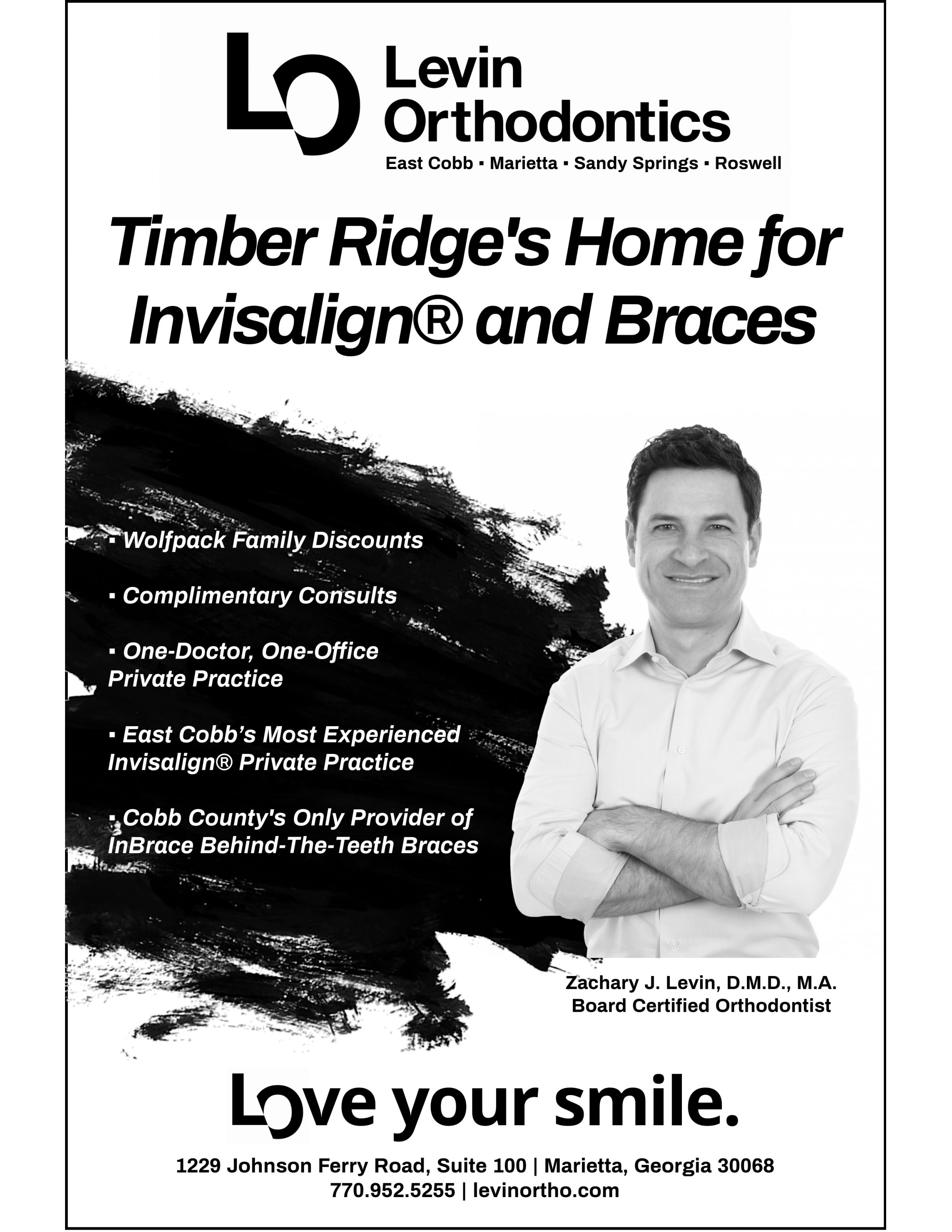 Levin Orthodontics Black Friday Sale Flyer Template (3)